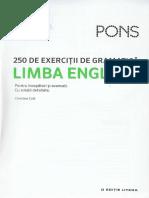 Limba engleza. 250 de exercitii de gramatica. Pons.pdf