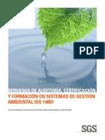 SGS ISO14001 A4 ES 11 1