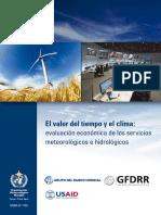 El Valor Del Tiempo y El Clima - OMM