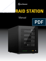Manual 5-Bay Raid Station En