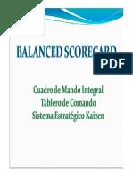 Balanced Scorecard 2013
