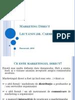 Marketing Direct Curs FINAL