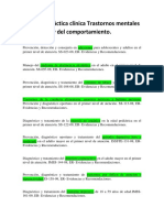 Bibliografia Guías PRACTICA CLINICA