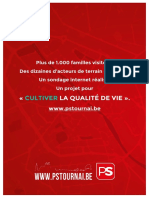 Programme Communal PS Tournai DEF