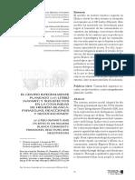 El CIP Nayarit y sus efectos en la comunidad de Higuera Blanca