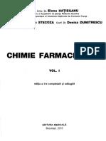 Chimie Farmaceutica Vol 1 UNIT