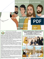 HOJITA EVANGELIO NIÑOS DOMINGO IV TO C 19 COLOR
