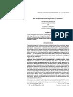 TheMeasurementofExperiencedBurnout (1).pdf