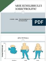 DEZECHILIBRE-HIDROEECTROLITICE