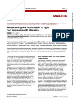 Transforming Food Systems to Fight NCDs