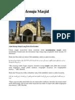 Adab Masjid