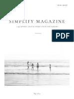 Simplify magazine 001