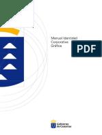 Manual Identidad Corporativa Grafica Gobierno de Canarias