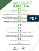 Decálogo de Eficiencia Energética