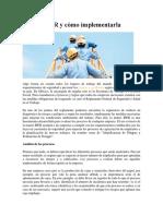 Matriz IPER y Cómo Implementarla