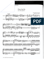 Duo Facile for Two Gtrs de Call Op.20