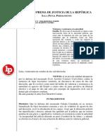 RECURSO NULIDAD N.° 1268-2018/LIMA NORTE PONENTE