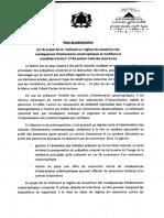 Projet Loi 110.14 Fr Cat Nat