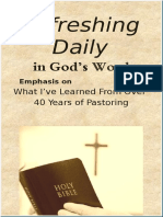 """""""What I Have Learned From Over 40 Years of Pastoring""""  February 2019"""