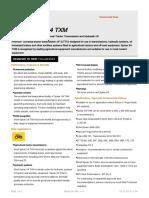 Spirax S4 TXM Data Sheet