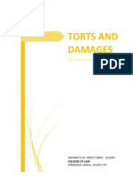 Torts and Damages Cases (Full Text).docx