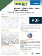 A Semiologia Do Discurso Político de Ódio e Projetos Político-econômicos