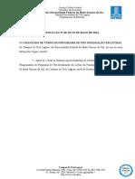 Nomas de Aproveitamento de Créditos Em Atividades Programadas DOUTORADO Res 60 de 23-05-2014.1