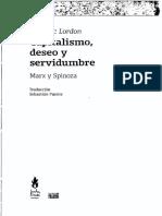 Frédéric Lordon - Capitalismo, Deseo y Servidumbre