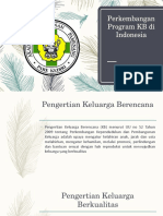 Perkembangan Program KB di Indonesia