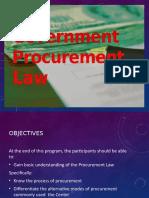 Government Procurement Law