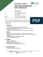 Informe Simulacro Explast 2018