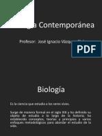 1. Temario de Biología Contemporanea