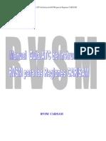 RVSM ATC MANUAL ESPAÑOL