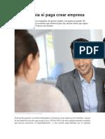 En Colombia Sí Paga Crear Empresa