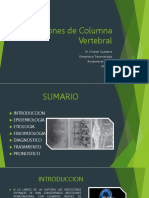 INFECCIONES DE COLUMNA VERTEBRAL