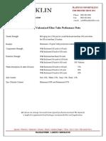 Lamitex+Vulcanized+Fibre+Tube+Performance+Data
