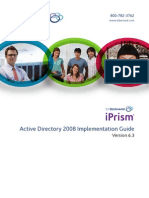 iPrism AD2008 Implementation Guide