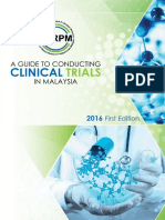 A Guide to Conduct Clinical Trials in Malaysia