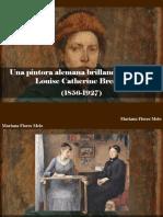 Mariana Flores Melo - Una Pintora Alemana Brillando en París, Louise Catherine Breslau, (1856 - 1927)