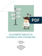 Placement Service in Guidance and Counseling
