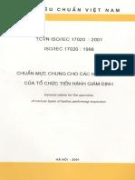 TCVN 17020 2001