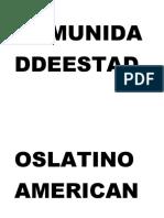 Comunidaddeestadoslatinoamericanos y Caribeños