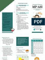Leaflet MP-ASI PKL Sungai Gampa