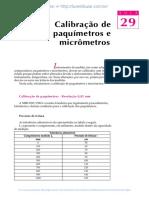 29 calibracao de paquimetros emicrometros.pdf