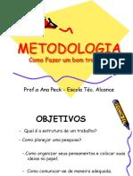 Aula 1 Metodologia