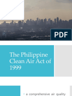 PHILIPPINE CLEAN AIR ACT