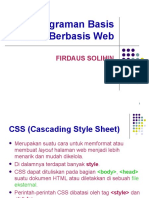 Pemrograman Web 05