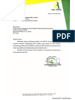 Surat Permohonan Keikutsertaan Pelatihan PONEK