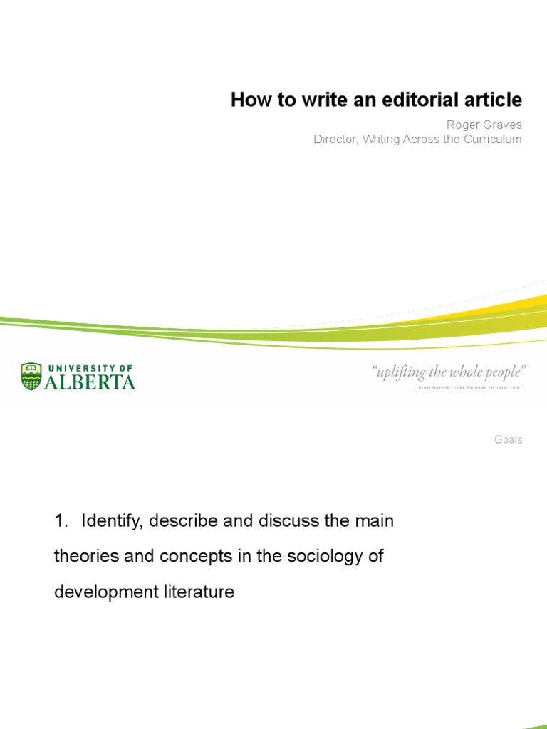 How to Write Editorial Article | Argument | Essays