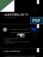 Auditoria en Ti